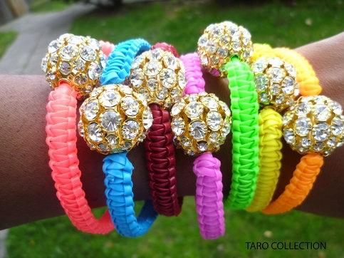Arm Candys Neon Bracelets
