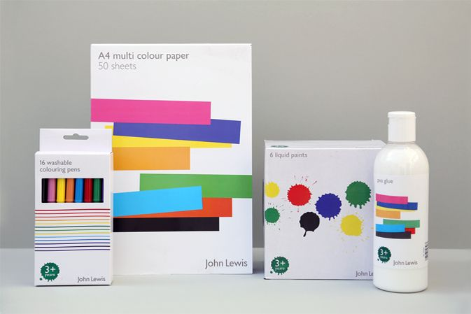 What great colors and simple designs on these assorted products and #packaging PD