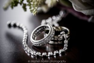Stunning Silver Engagement and Wedding Rings