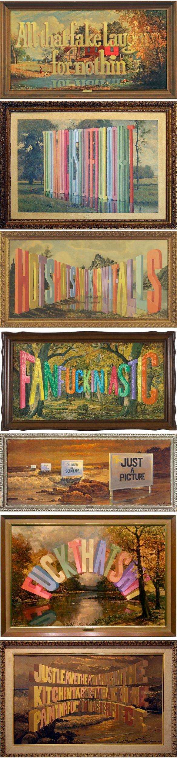 "The Jealous Curator /// curated contemporary art /// ""hoozy thinky iz"""