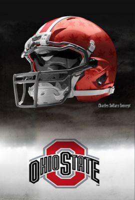Ohio state football helmet designs | Ohio-state-nike-pro-combat-helmet1_display_image