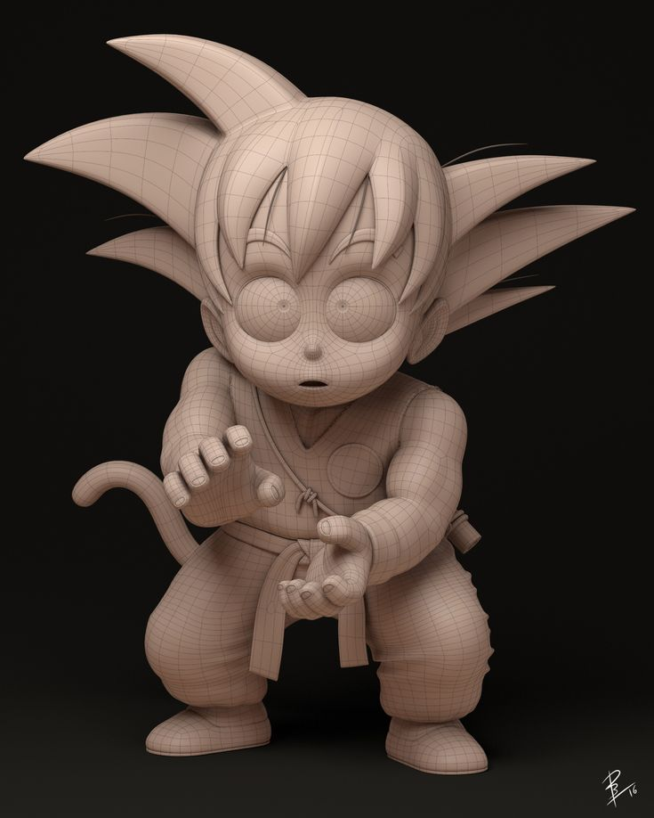 ArtStation - First Kame Hame Ha, David Barrero