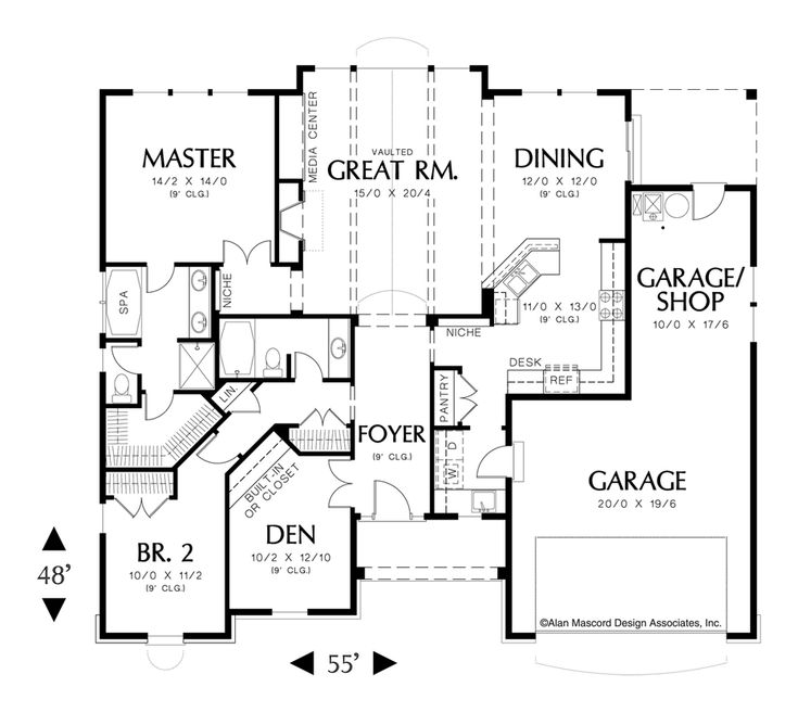 mascord house plan 1149 house plans craftsman and the great