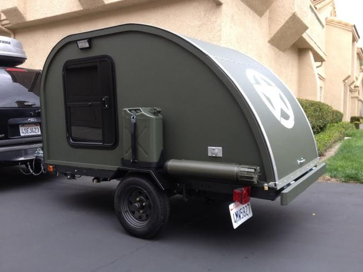 "Here is a guest post by Steve Whelan on his DIY Teardrop Trailer. It took $2,000 and about 5 months to build part time. Why build it? I was bored and needed a project! I am an artist as well, ""targ..."