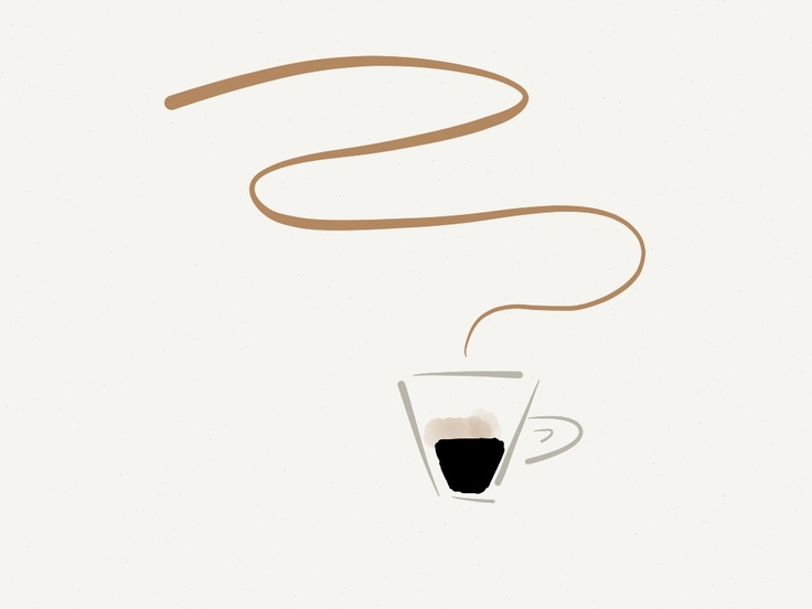 Well, it's a cup of coffee #madewithpaper