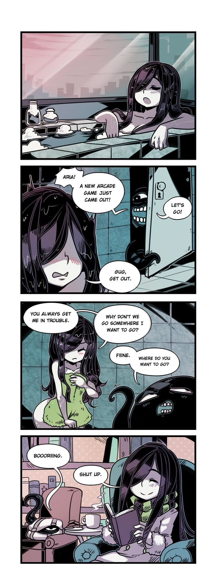 The Crawling City :: Episode 30 - What Aria Wants | Tapastic Comics - image 1
