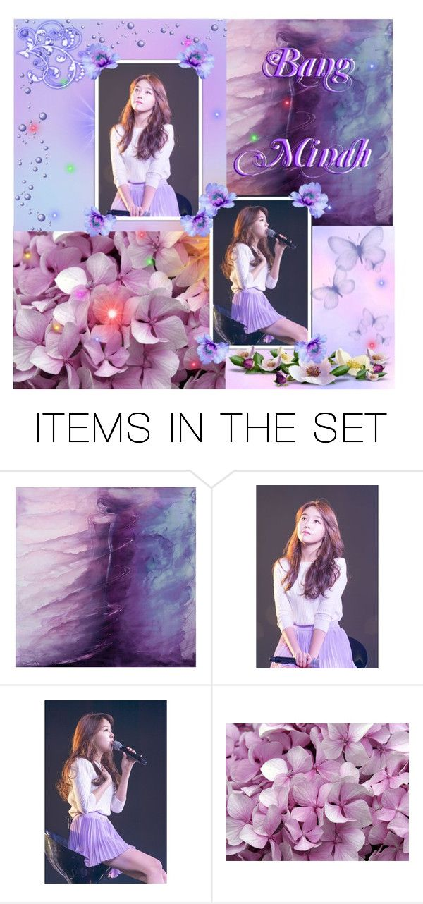"""Introduction: Bang Minah"" by k-p0p-an0ns ❤ liked on Polyvore featuring art, herkp0p and bminah"