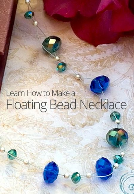 How to Make a Floating Bead Necklace