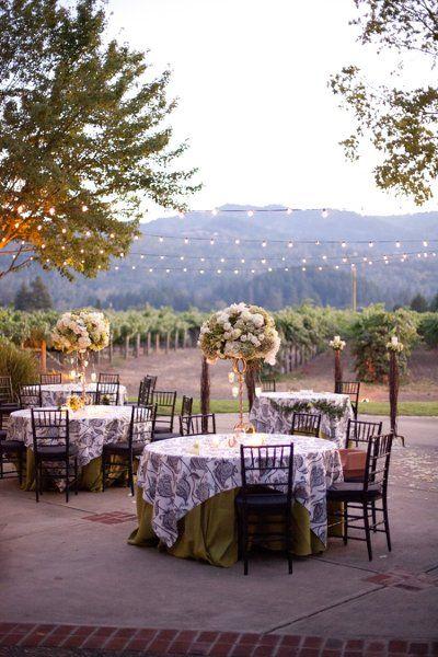 55 best vineyard wedding ideas images on pinterest wedding tables reception decor ideas junglespirit Gallery