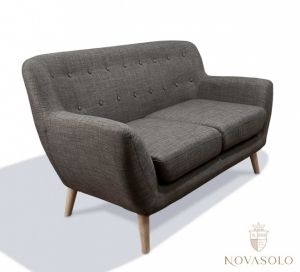Vigo 2-seter sofa (mørk grå)