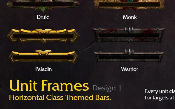 World of Warcraft UI Mods on Behance