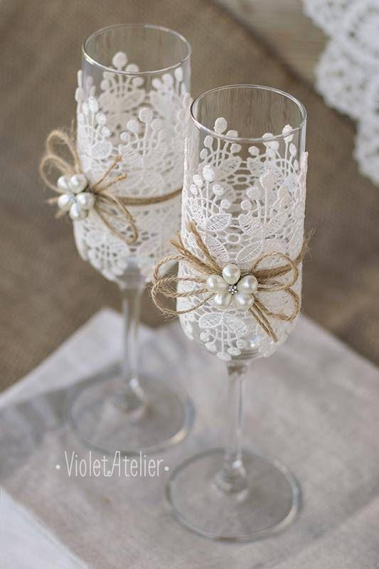 Erstaunliche Hochzeit Glas Dekoration Toast Hochzeitsideen