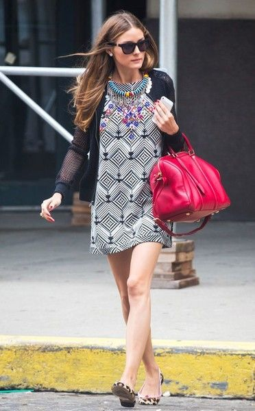Proof: Olivia Palermo is the Street Style Queen of Pinterest | Eclectic Mix