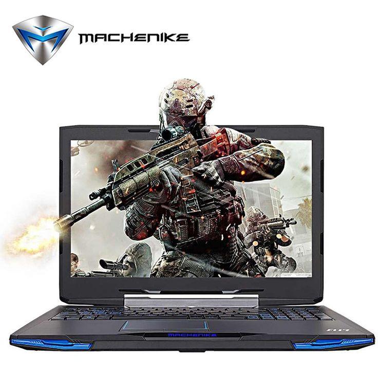 Machenike F117-F2u Intel Core i7-7700HQ Laptop 15.6'' Aluminum Metal Gaming Notebook GTX1050 4GB GDDR5 HDD 1TB RAM 8GB 1080P