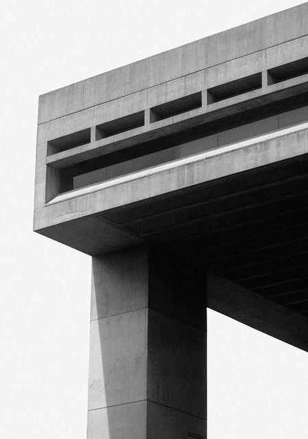 I.M. Pei - Johnson Art Museum Cornell Ithaca NY 1973 #Brutalist #architecture