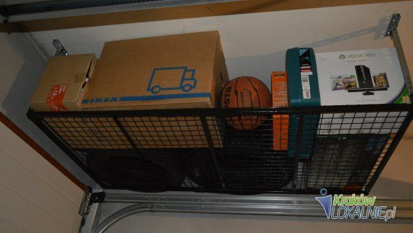 półki podsufitowe, meble do garażu, piwnicy, zapleczy sklepowych