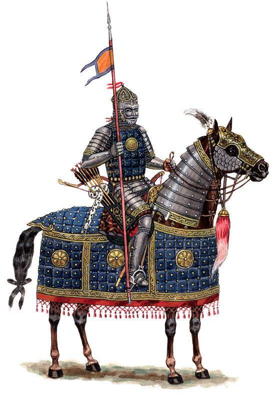 Cavalaria pesada do Canato da Horda Dourada (Por ?)