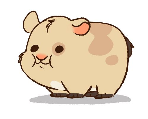 Waddles as a hamster