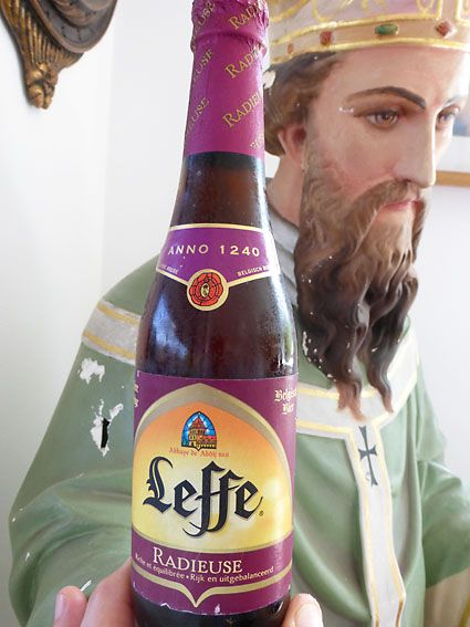 Belgians know how to brew beer. The Belgians at the Leffe Brewery have being doing their thing since 1240. That's the year 1240, not the time. Traditionally, the beer was brewed by monks, some say ...