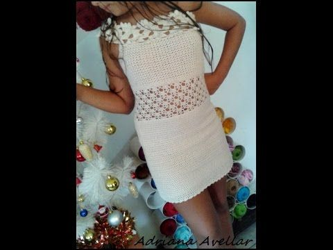 Vestido de croche - YouTube