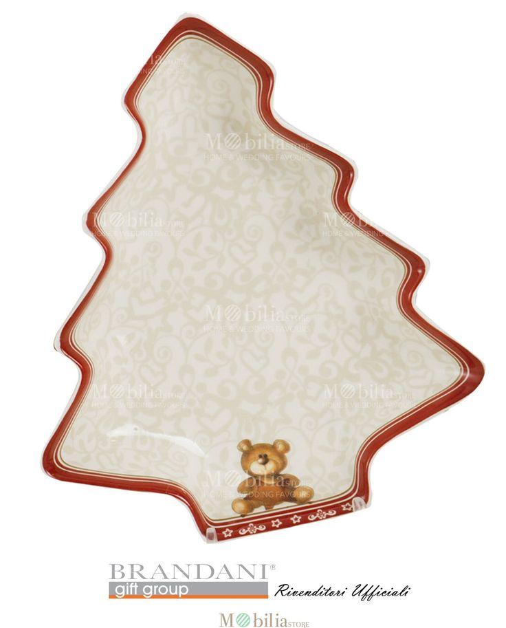 Antipastiera Albero Abbracci Brandani con bellissime decorazioni natalizi. Scopri le eccezionali promozioni su Mobilia Store.