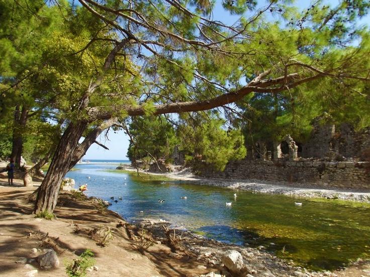 Roman baths. Olympos, Turkey.