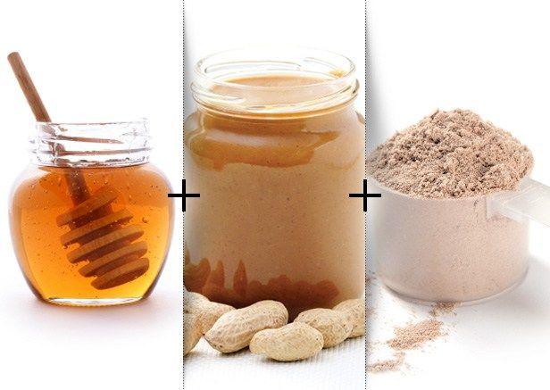 Preworkout -> Peanut Butter Protein Balls