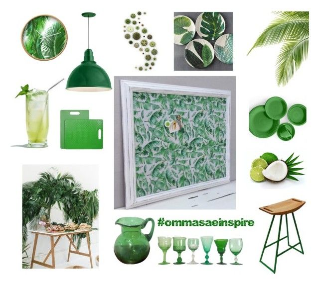 """Summer green all year long"" by info-521 on Polyvore featuring interior, interiors, interior design, thuis, home decor, interior decorating, Troy, Architec, Fiesta en Fenton"