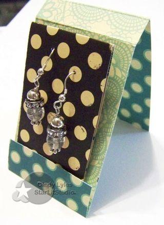 Cute packaging idea for earrings