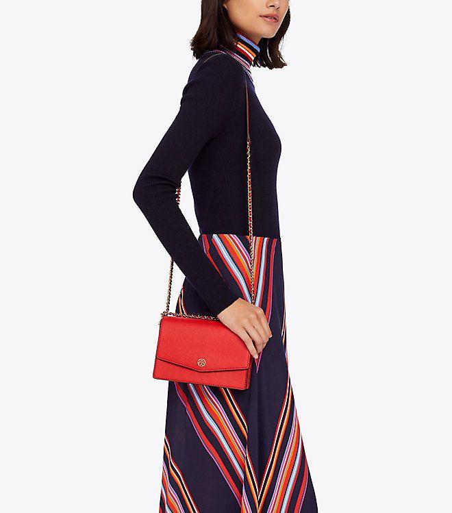 74b593a52b88 Tory Burch Robinson Convertible Mini Shoulder Bag   Women s The Essentials