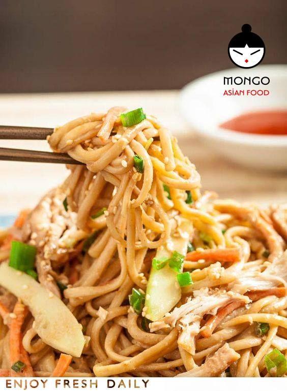 #Noodles με τραγανά #μπαμπού και λαχταριστά #λαχανικά στα #MongoAsianFood ..