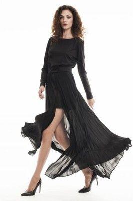 Simple Sukienka i spódnica plisy r.34 2w1