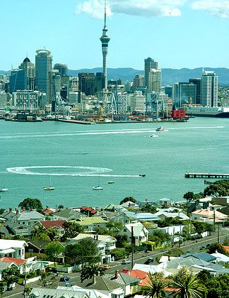 Auckland, New Zealand. Study abroad here through our program with GlobaLinks at AUT University!
