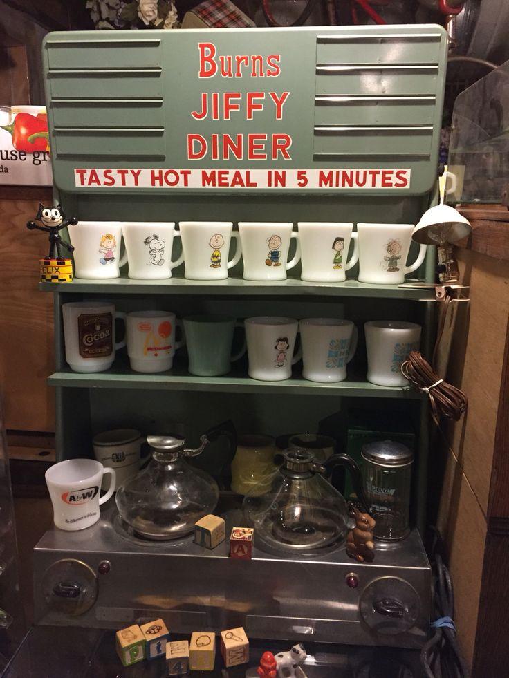 Fire king D handle mug  Peanut (Snoopy ) series, Federal A&W mug,Fire king stacking mug Mc Donald Canada,Blue heaven D handle mug, Anchor hocking Aunt Jenny's Cocoa mug,Turquoise D handle mug