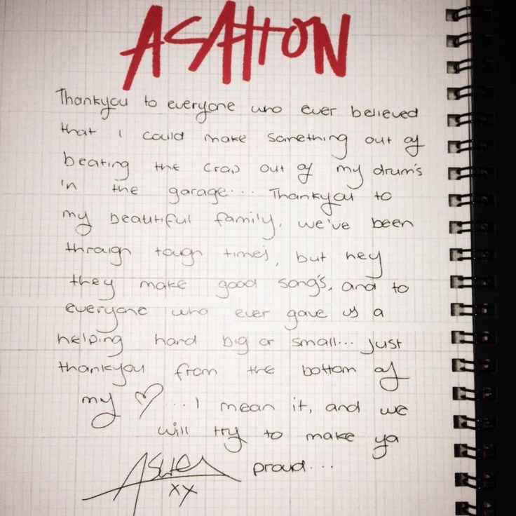 Ashton's message in the 5sos fanzine....I might be dying right now. *checks pulse* nope im a gonner!