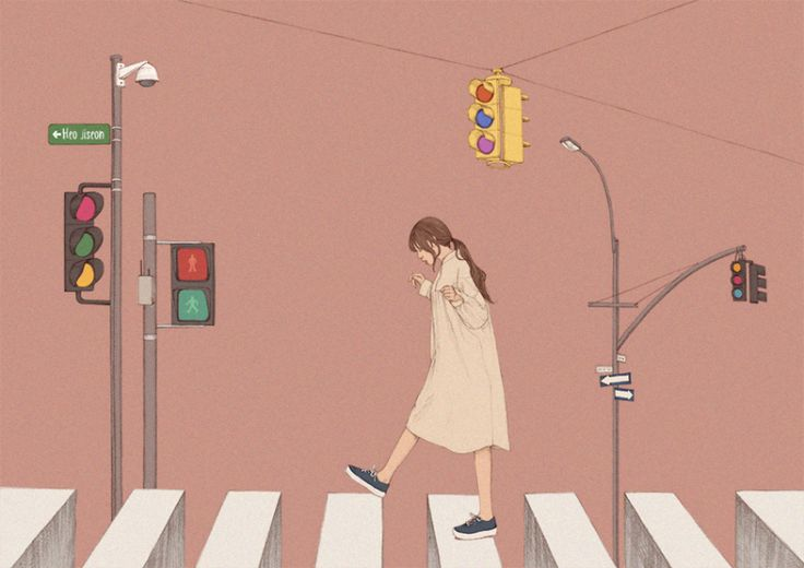 Không còn chú ý đèn giao thông, ngày xưa người ta đâu cần đèn. Vẫn tìm được người thương đấy thôi.