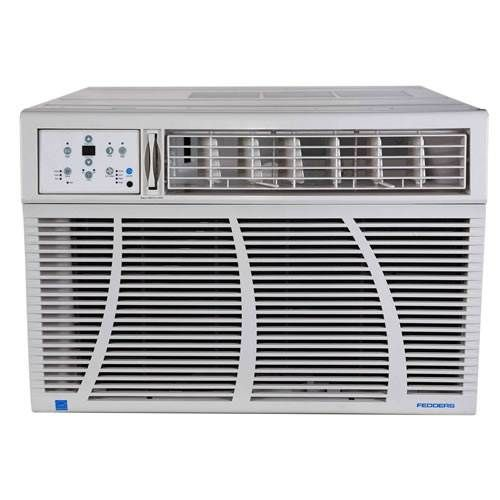Airwell Fedders 18,000 BTU Cool/10,200 BTU Heat 230 Volt Energy Star Window AC