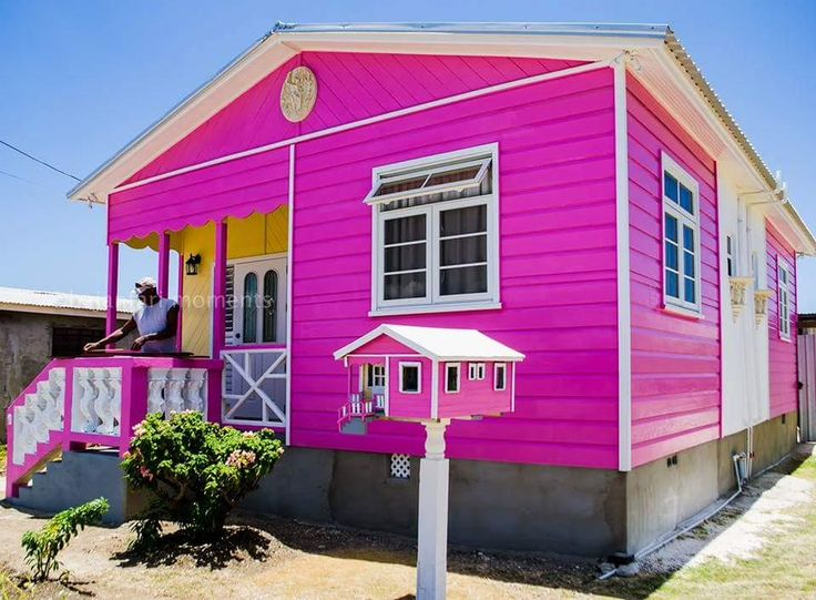 Lovely Colorful Chattel House in Barbados