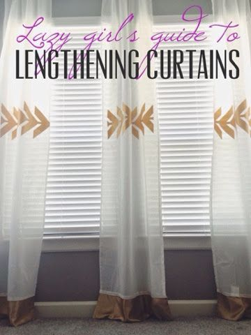 how to make cheap curtains without sewing