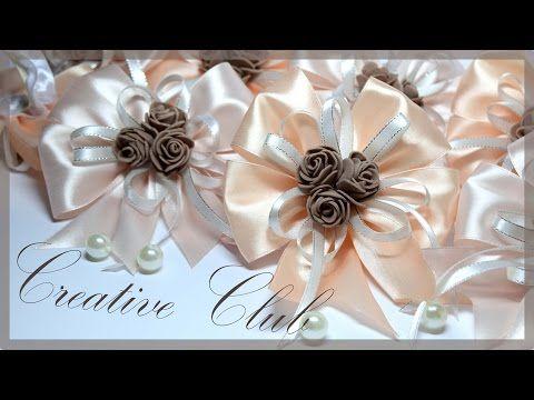 Свадебные БРАСЛЕТЫ для подружек невесты / СВОИМИ РУКАМИ - YouTube