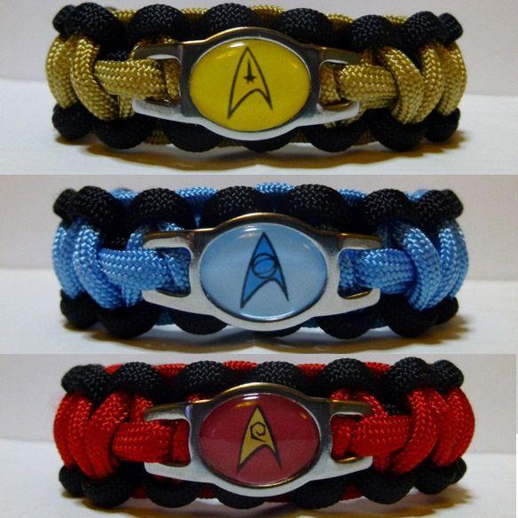 Star Trek Paracord Bracelet