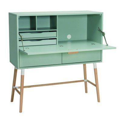 Arod Working Desk - Sage Green