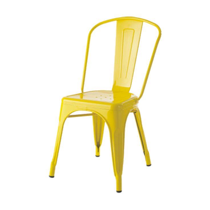 Xavier Pauchard Tolix Terrasstoel eetkamerstoel Staal stapelbare stoel