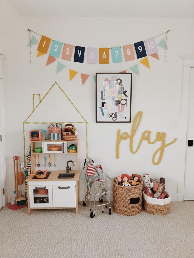 Play playroom decor, wood word cut, laser cut, wall art, wooden wall decor, home decor, kids room, kids decor, nursery, homeschool, children