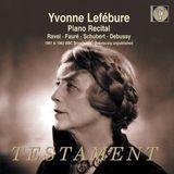 Piano Recital: Ravel, Fauré, Schubert, Debussy [CD]
