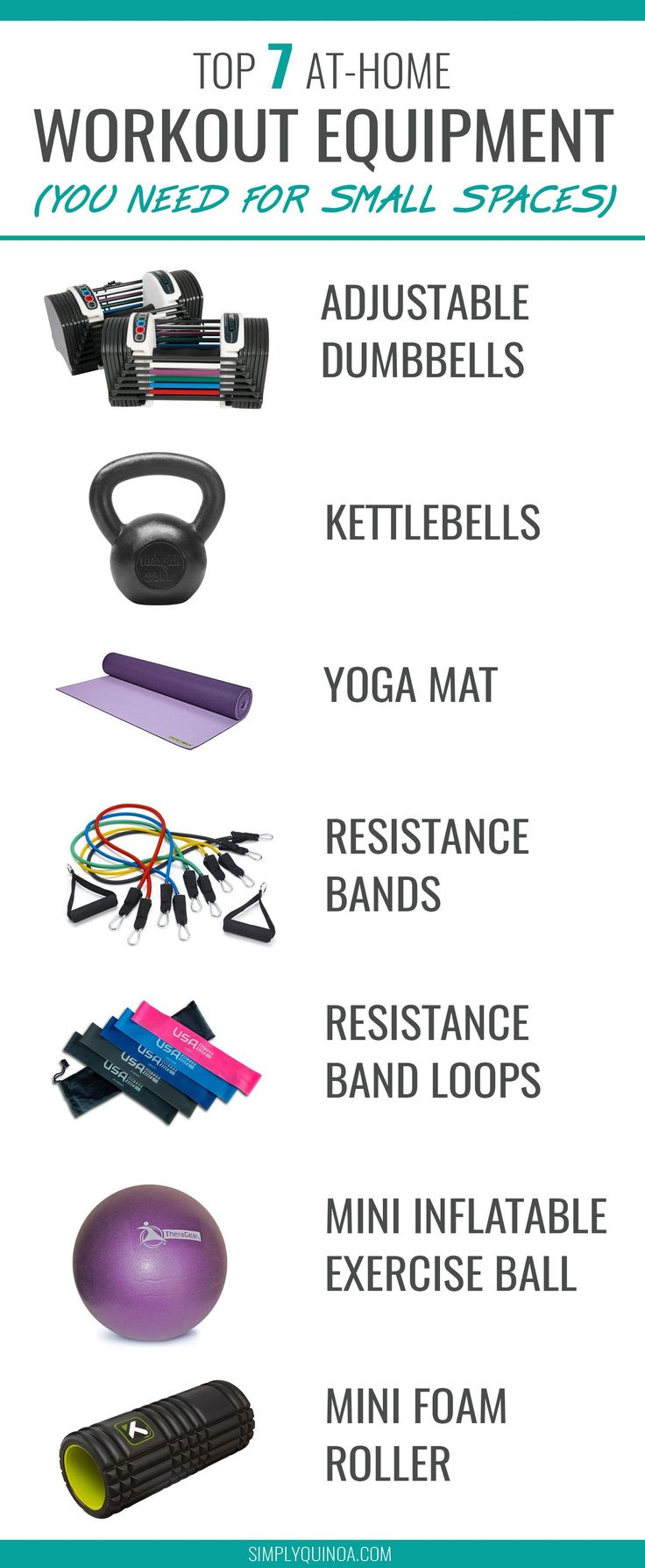 10 Best At Home Exercise Equipment For Small Space…