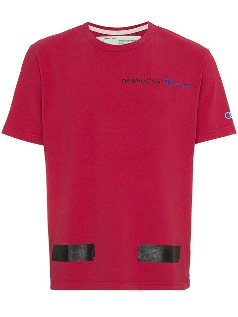Off White X Champion Arrows T Shirt Arrow T Shirt Shirts T Shirt