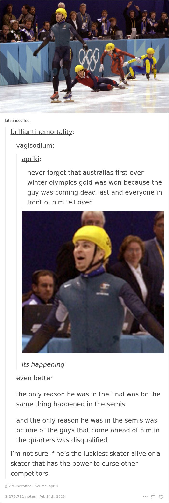 20+ Funniest Reactions To The Winter Olympics