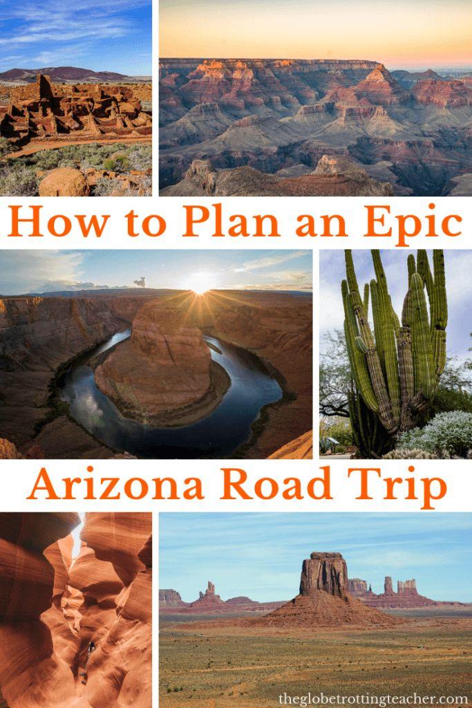 Como planejar uma épica viagem por estrada no Arizona   – Road Trips