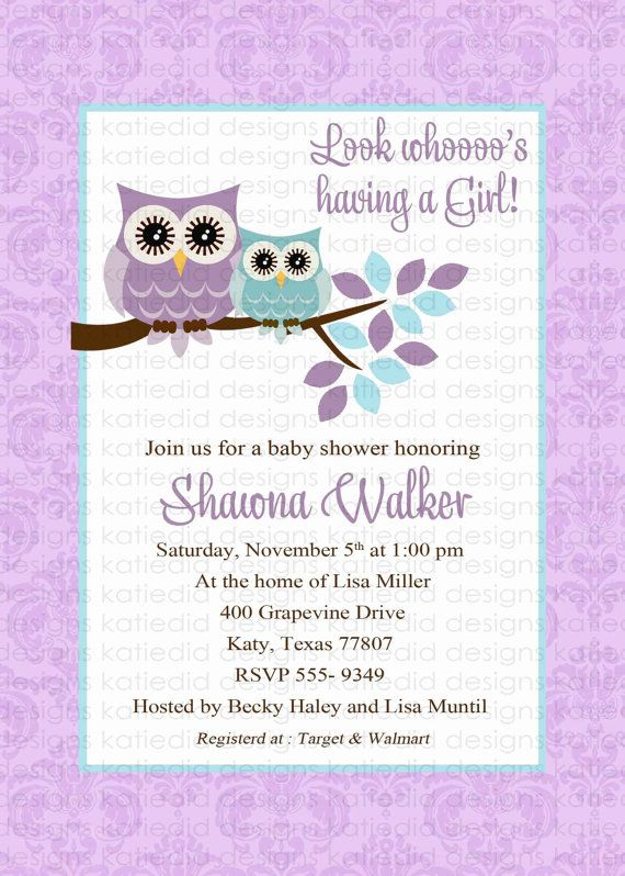 owl+baby+shower+invitations+baby+girl+owl+with+by+katiedidesigns,+$13.00